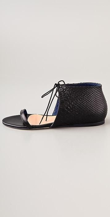 Tibi Stella Flat Sandals