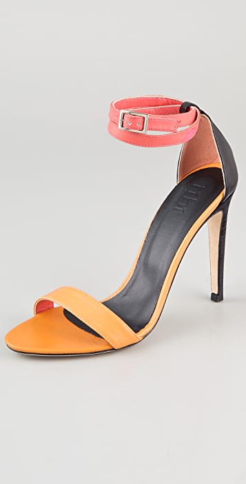 6c9f97017a2 Tibi Amber High Heel Sandals