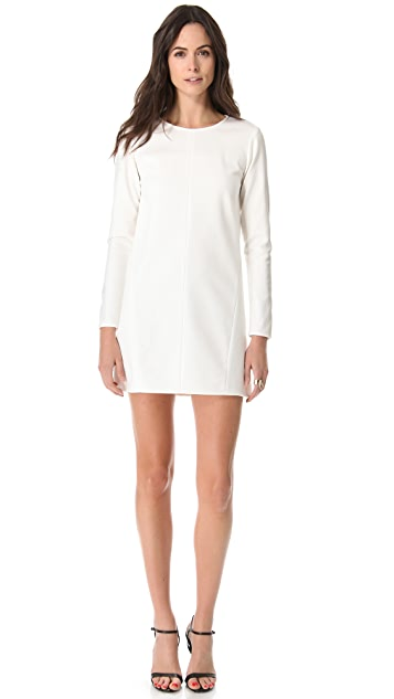 Tibi Ponte Shift Dress