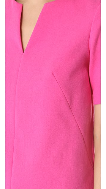 Tibi Willa Crepe Easy Top