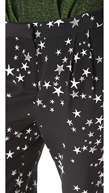 Tibi Starfish Pleated Pants