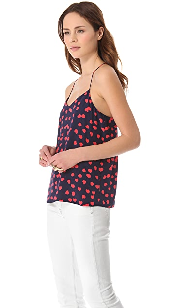 Tibi Scattered Hearts Cami