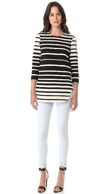 Tibi Stripe Tunic