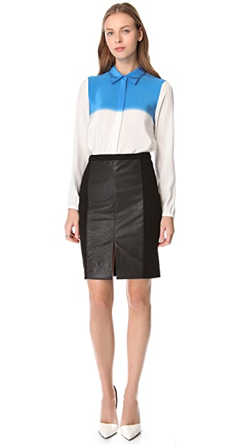 Tibi Faded Stripe Shirt
