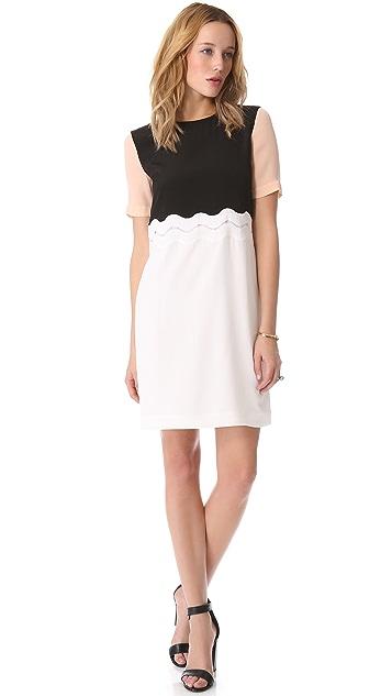 Tibi Peek-A-Boo Dress