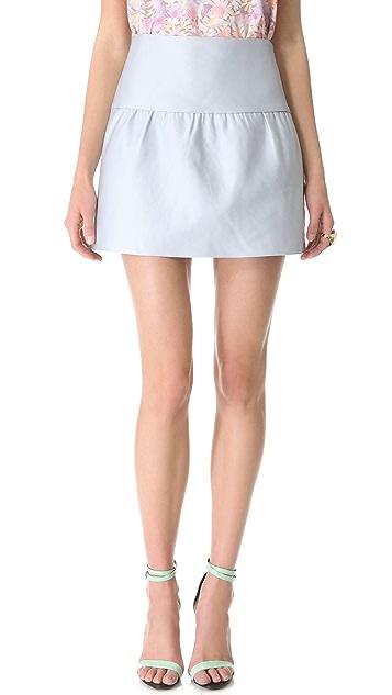 Tibi Duchess Yoked Skirt