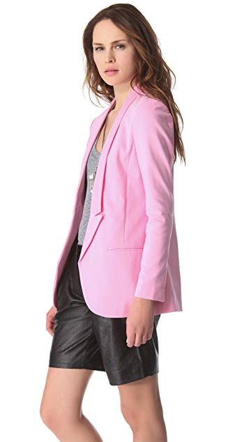 Tibi Milo Suiting Blazer