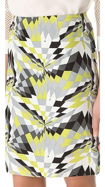 Tibi Isosceles Pencil Skirt