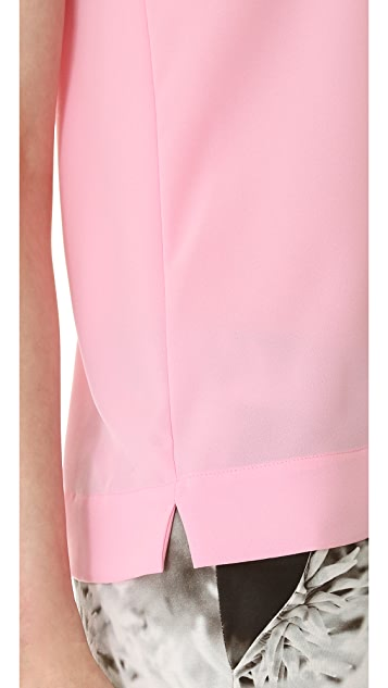 Tibi Alexa Sleeveless Shell