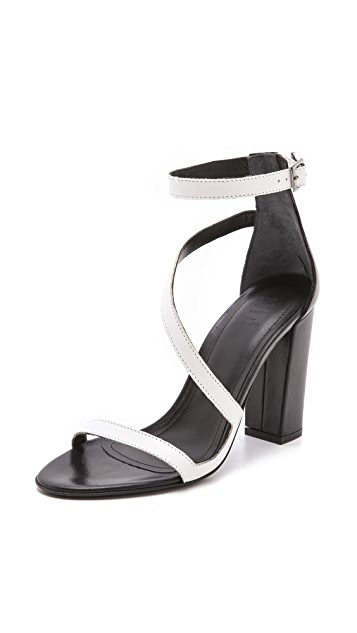 Tibi Ida Asymmetrical Sandals