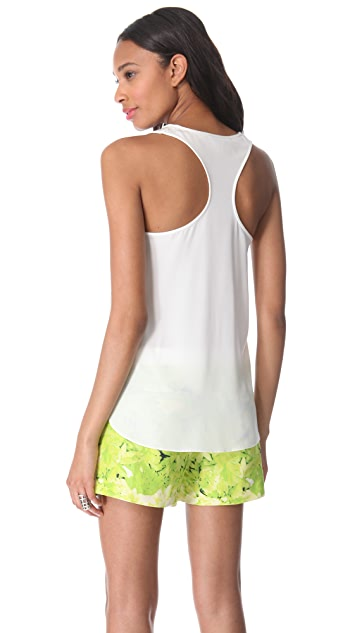 Tibi Emme Scoop Neck Tank