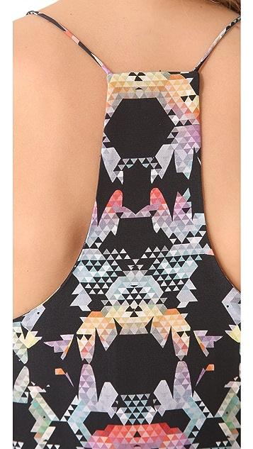 Tibi Kaleidoscope Print Camisole