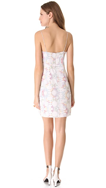 Tibi Kaleidoscope Slip Dress