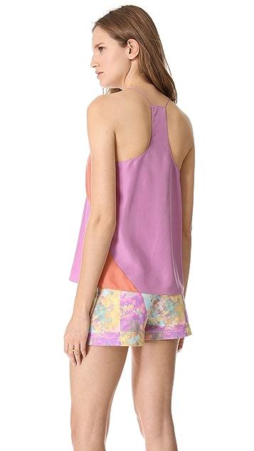 Tibi Colorblock Camisole