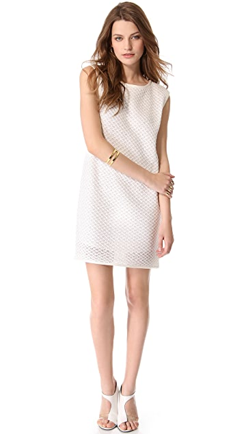 Tibi Crochet Easy Dress