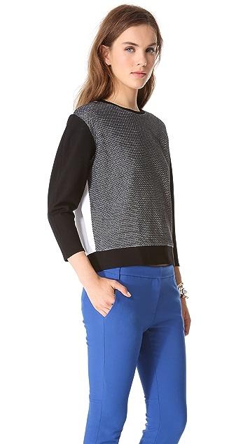 Tibi Honeycomb Sweatshirt
