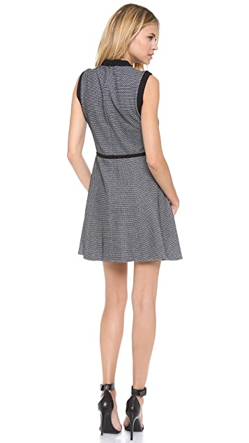 Tibi Sleeveless Honeycomb Dress