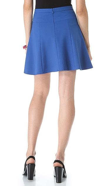 Tibi Anson Seamed Skirt