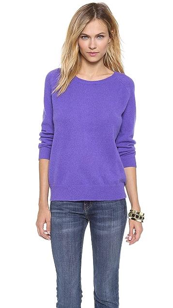 Tibi 3/4 Sleeve Pullover