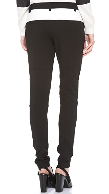 Tibi Colorblock Paneled Pants