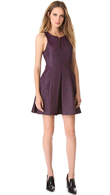 Tibi Sleeveless Zipper Dress