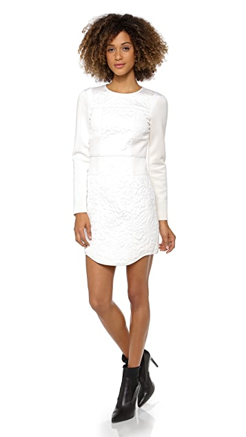 Tibi Paneled Fitted Dress