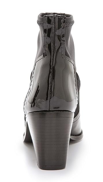 Tibi Spencer Stacked Heel Booties