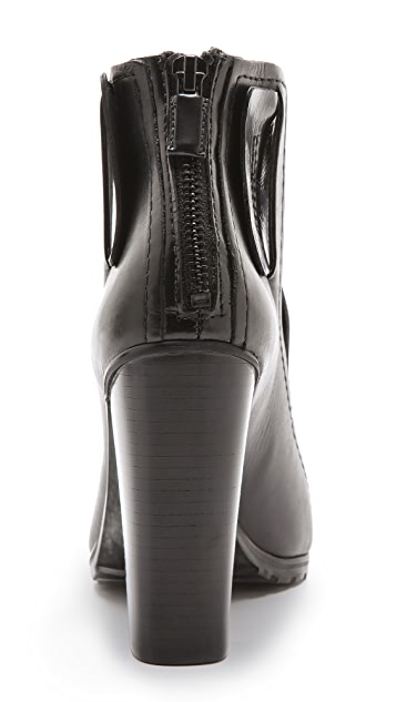 Tibi Perla Cutout Booties