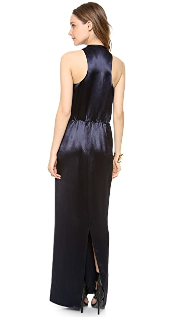 Tibi Long Draped Dress