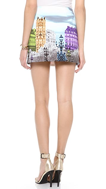 Tibi Eiffel Tower Skirt