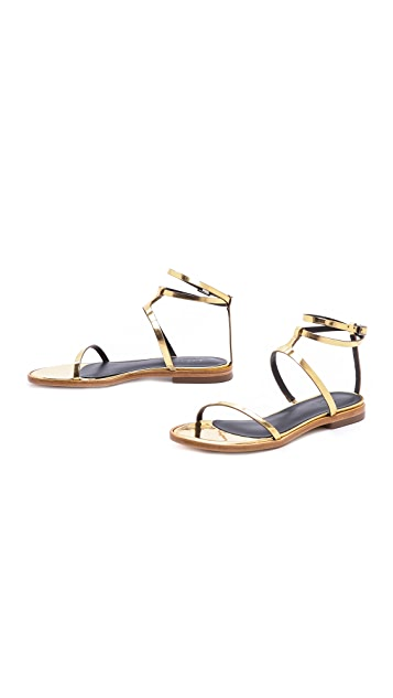 Tibi Colby Flat Sandals