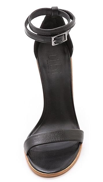 Tibi Amber Single Band Sandals