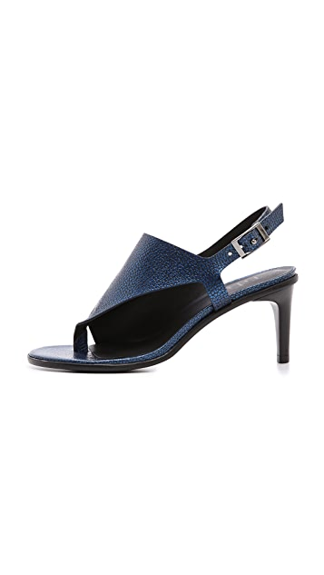 Tibi Kel Cutout Sandals