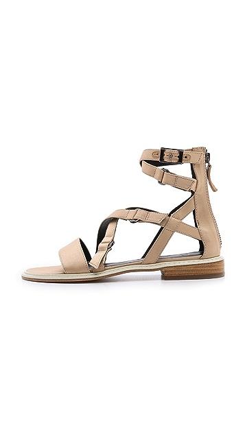 Tibi Imogen Flat Sandals