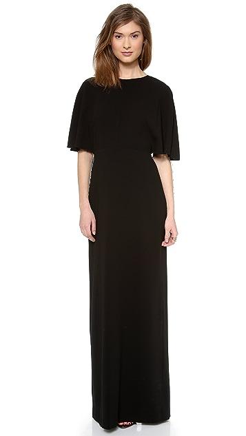 Tibi Long Fringe Dress