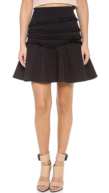 Tibi Fringe Skirt