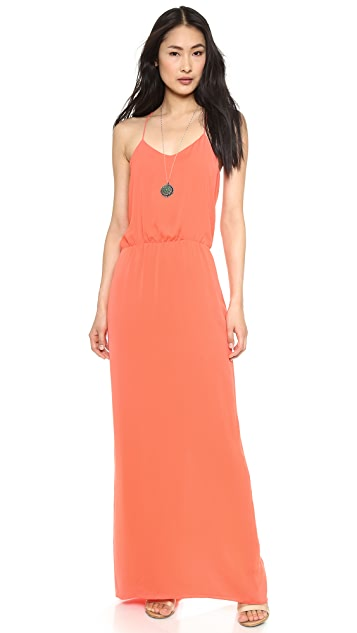 Tibi Long Racer Back Dress