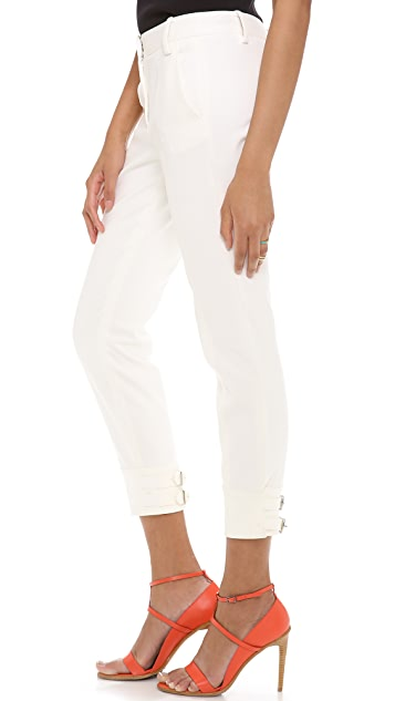 Tibi Buckle Detail Pants