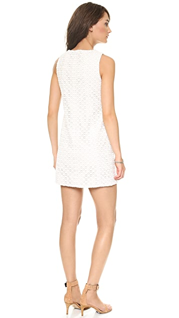 Tibi Sonoran Eyelet Dress