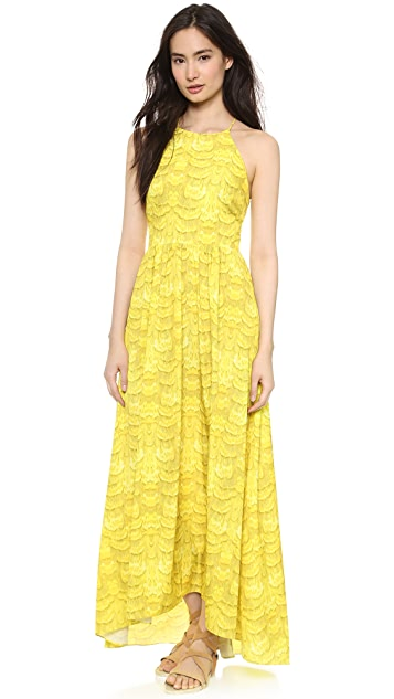 Tibi Strappy Maxi Dress