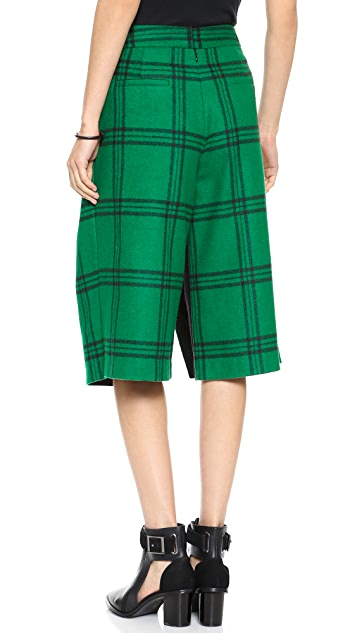 Tibi Culotte Cropped Pants