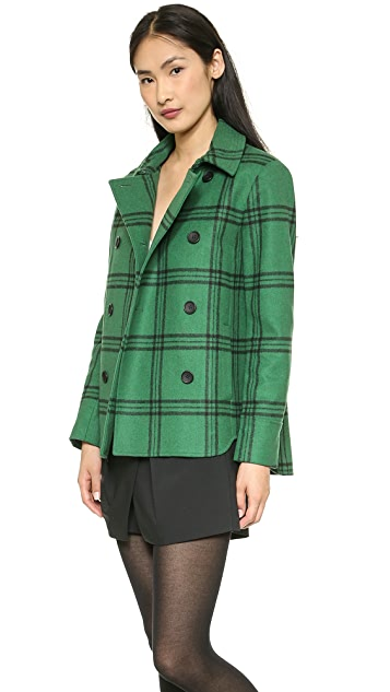 Tibi Hooded Coat