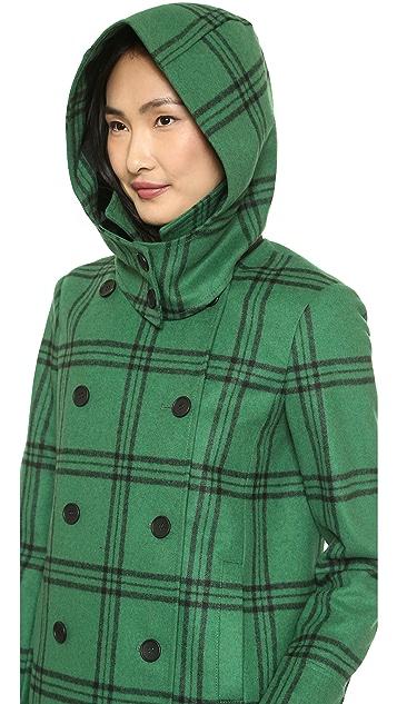 Tibi Hooded Coat