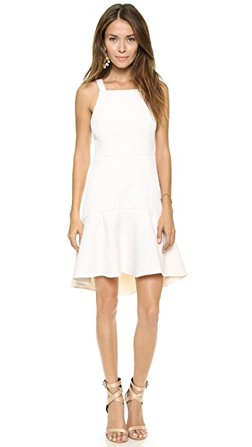 Tibi Sleeveless Ruffled Dress