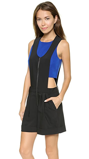 Tibi Sleeveless Overalls