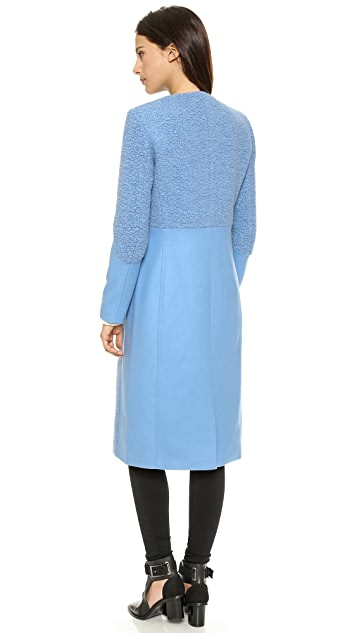 Tibi Long Sleeve Coat