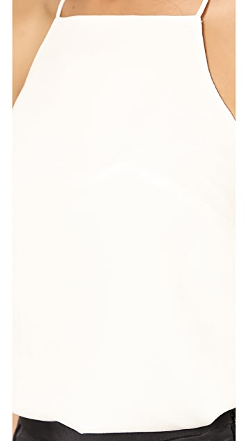 Tibi Savanna Square Neck Camisole