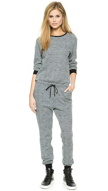 Tibi Long Sleeve Jumpsuit