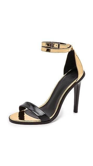 Tibi Amber Ankle Sandals
