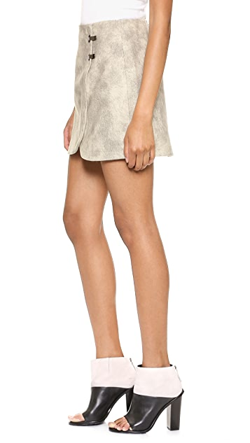 Tibi Pony Miniskirt
